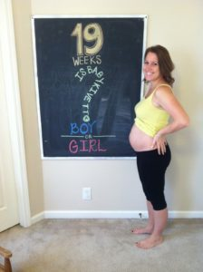 19 weeks pregnant weight gain