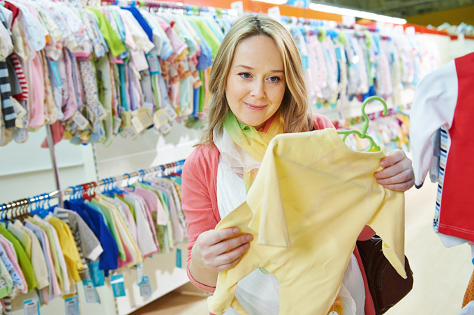 When to Start Buying Baby Stuff