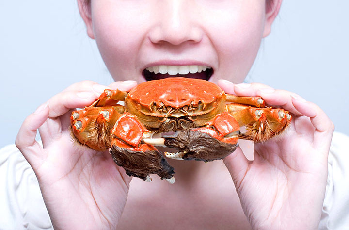 is it safe to eat crab while pregnant